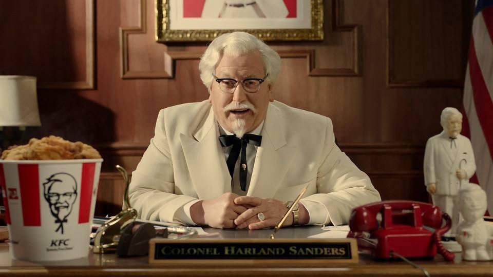 Nunca Desista Dos Seus Sonhos – Coronel Sanders – KFC