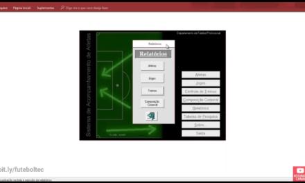 Software para clubes de futebol – O sistema pré CIFUT